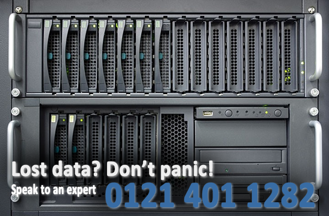 RAID Recovery Services in Birmingham